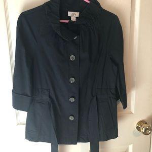 Blue Half sleeve Jacket